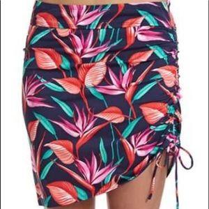 Tommy Bahama Bird of Paradise Side Shirred Skirt